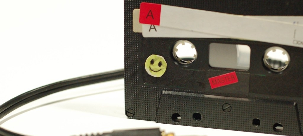 a cassette tape is so 80's